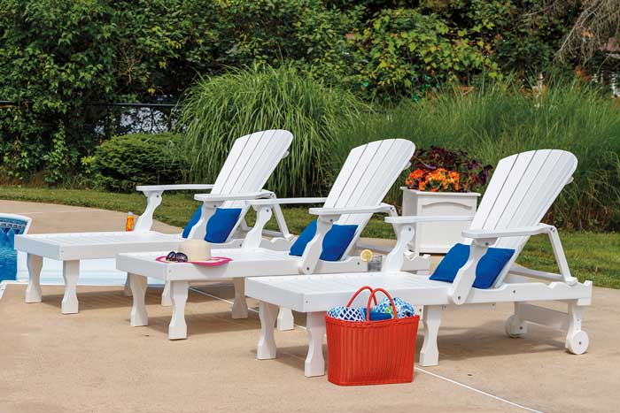 Oceanside Lounge Chairs