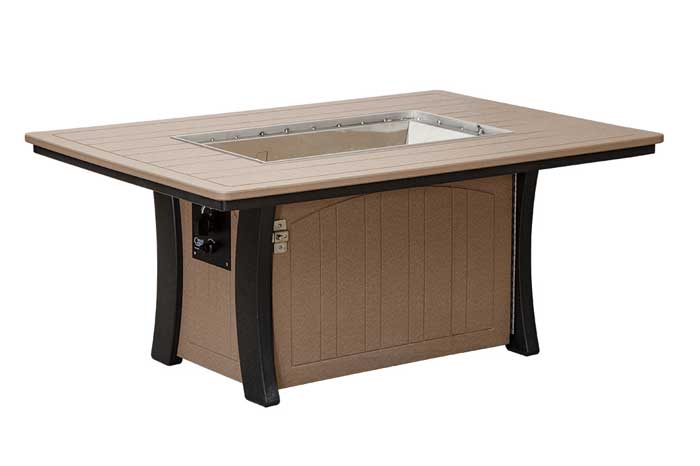 Rectangle 2-Tone Fire Table